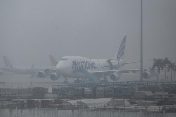 Sương mù ở Hà Nội khiến máy bay phải hạ cánh tại Hải Phòng, Đà Nẵng
