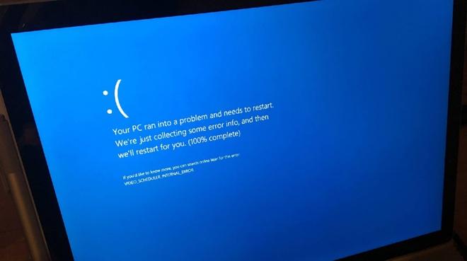 Lỗi nguy hiểm trên Windows 10 khiến máy ngừng hoạt động
