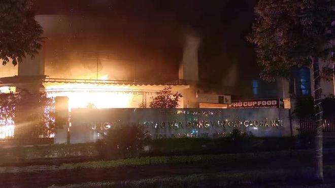 Cháy ở trung tâm đào tạo vận động viên cao cấp tối 30 Tết