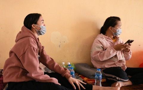 Chí Linh đưa 1.800 công nhân Công ty POYUN đến khu cách ly mới