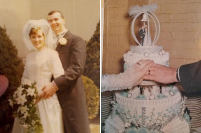 Tìm thấy nhẫn cưới sau gần nửa thế kỷ thất lạc