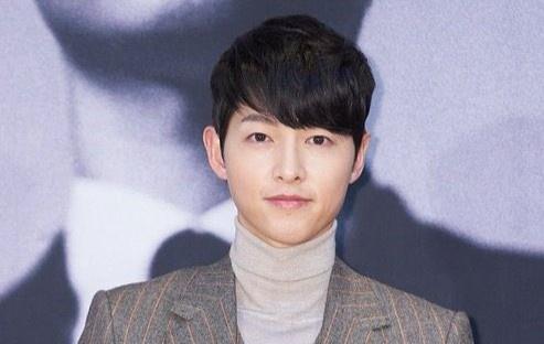 Song Joong Ki trong buổi ra mắt bom tấn truyền hình 'Vincenzo'