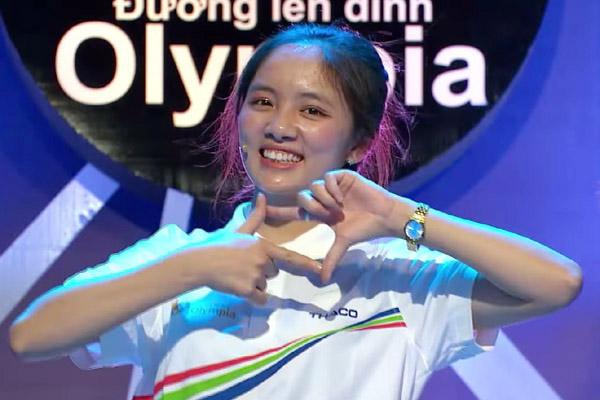 Nữ sinh gây chú ý ở Olympia dừng chân tại cuộc thi tháng
