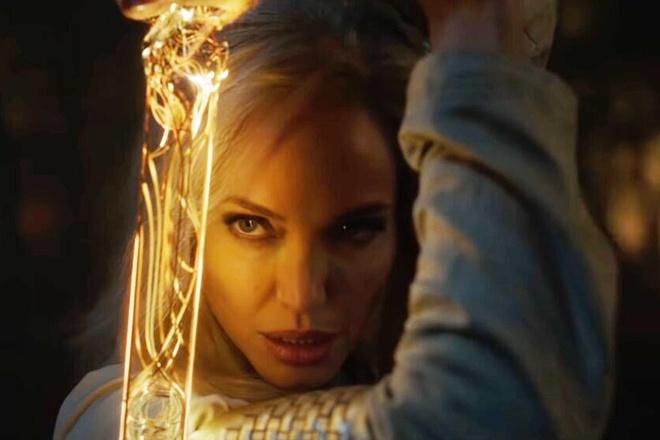 Angelina Jolie háo hức với phim siêu anh hùng mới của Marvel Studios