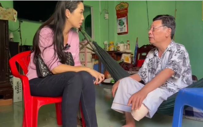 NSƯT Linh Phước hai lần phẫu thuật cắt chân vì hoại tử