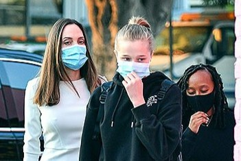 Con gái 15 tuổi của Angelina Jolie