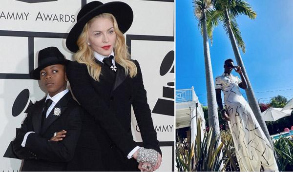 Các con của Madonna có thiên hướng nghệ thuật