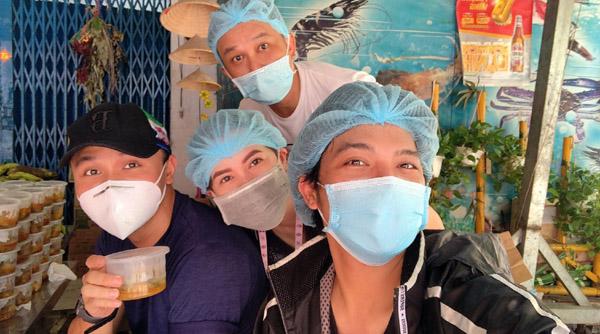 Gian bếp 0 đồng của nghệ sĩ Việt ở TP.HCM