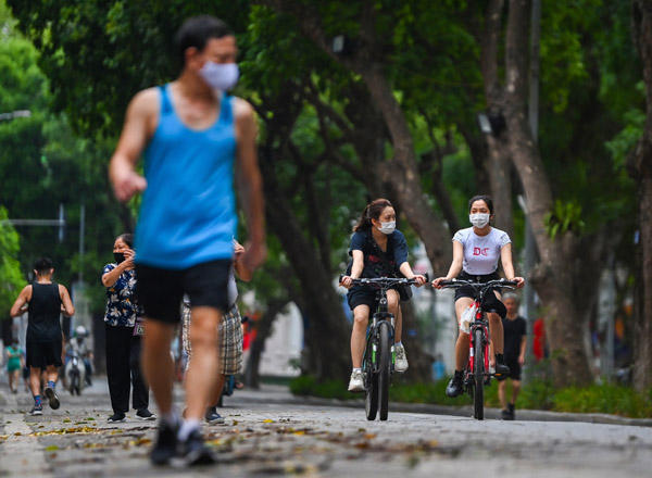 Hà Nội yêu cầu dừng hoạt động thể dục, thể thao ngoài trời