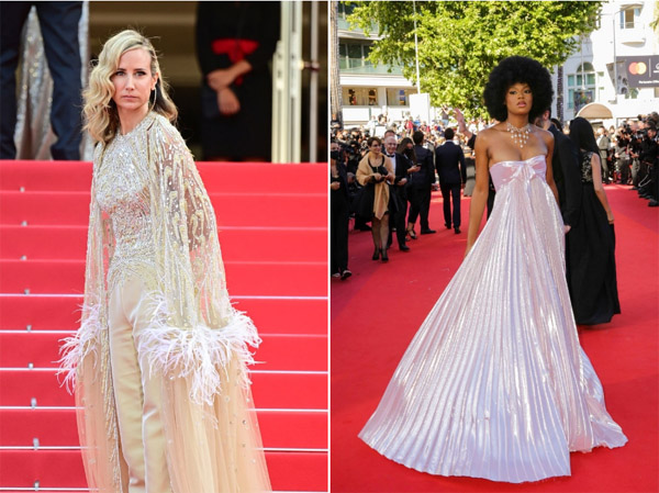 Váy áo thảm họa ở Cannes 2021