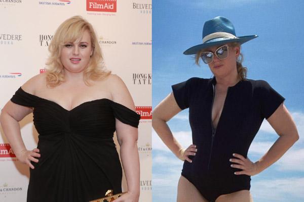 Nữ diễn viên giảm 30 kg sau một năm
