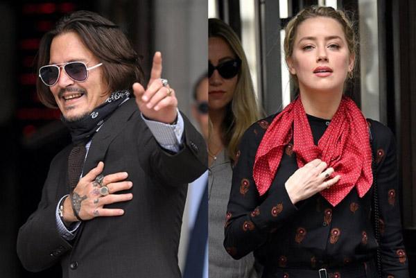 Tình tiết mới trong vụ kiện giữa Johnny Depp và Amber Heard