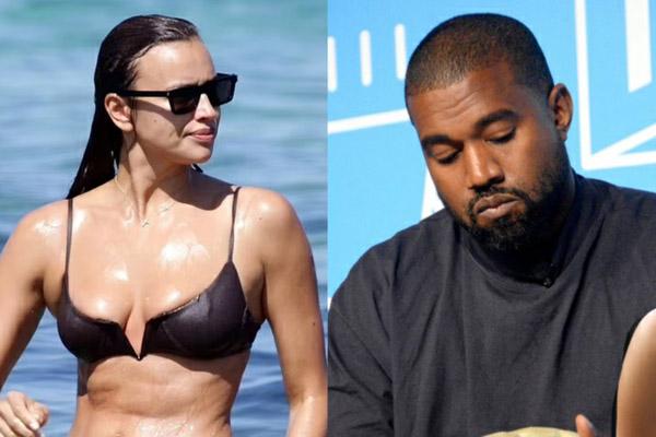 Irina Shayk và Kanye West chia tay