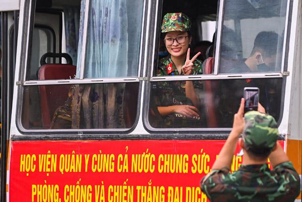 Hơn 1.000 cán bộ, học viên Học viện Quân y chi viện khu vực phía Nam