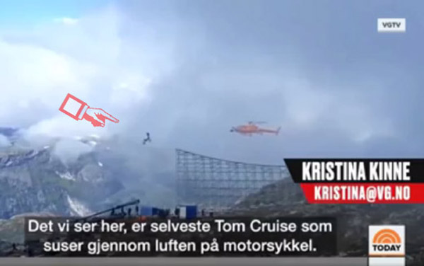Tom Cruise diễn cảnh lao môtô xuống vực 13.000 lần