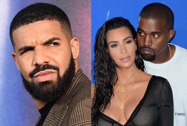 Cuộc chiến mới giữa Drake và Kanye West