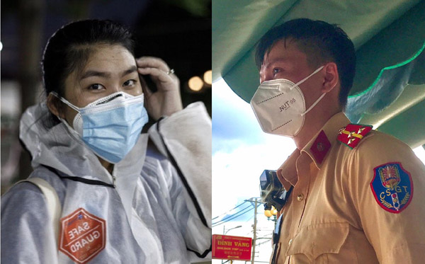 Cô gái lai Việt - Thái và anh CSGT thành đôi khi cùng đi chống dịch