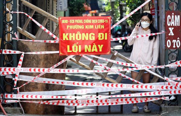 Rào chắn mọc lên hàng loạt trước ngày 6/9 ở Hà Nội