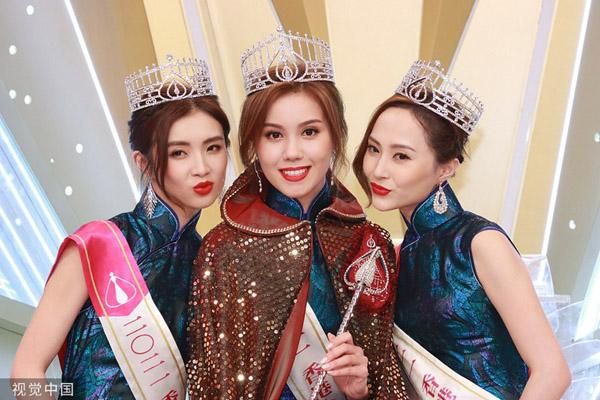 Người đẹp 22 tuổi đăng quang Hoa hậu Hong Kong 2021