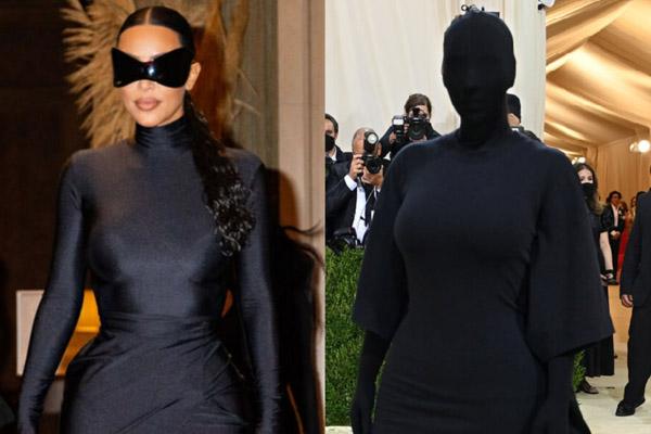 Tại sao Kim Kardashian trùm từ đầu đến chân ở Met Gala?