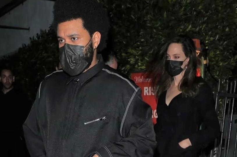 Angelina Jolie xuất hiện bên The Weeknd