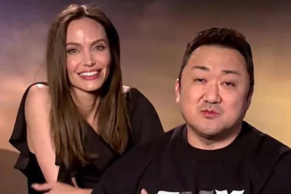 Sự ăn ý giữa Ma Dong Seok và Angelina Jolie
