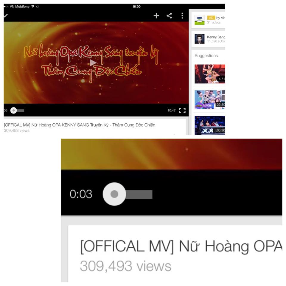 """MV OPA KENNY SANG truyền kỳ gây sốt """"chấn động"""" đạt triệu view chỉ sau 1 ngày ra mắt"""