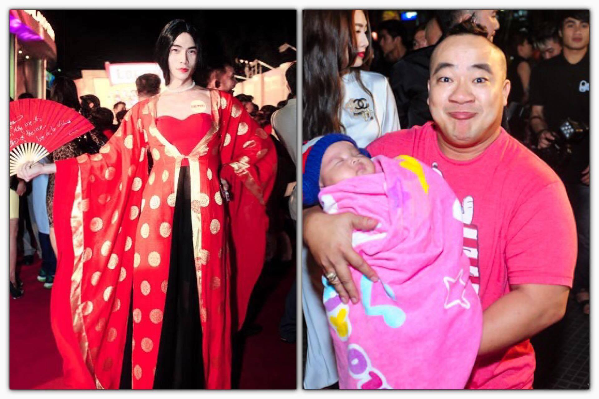 Tung áo gấm 30 tỷ hoá công chúa vương triều dự họp báo Lộc Phát, Kenny Sang muốn lấn át Hiếu Hiền trên thảm đỏ?