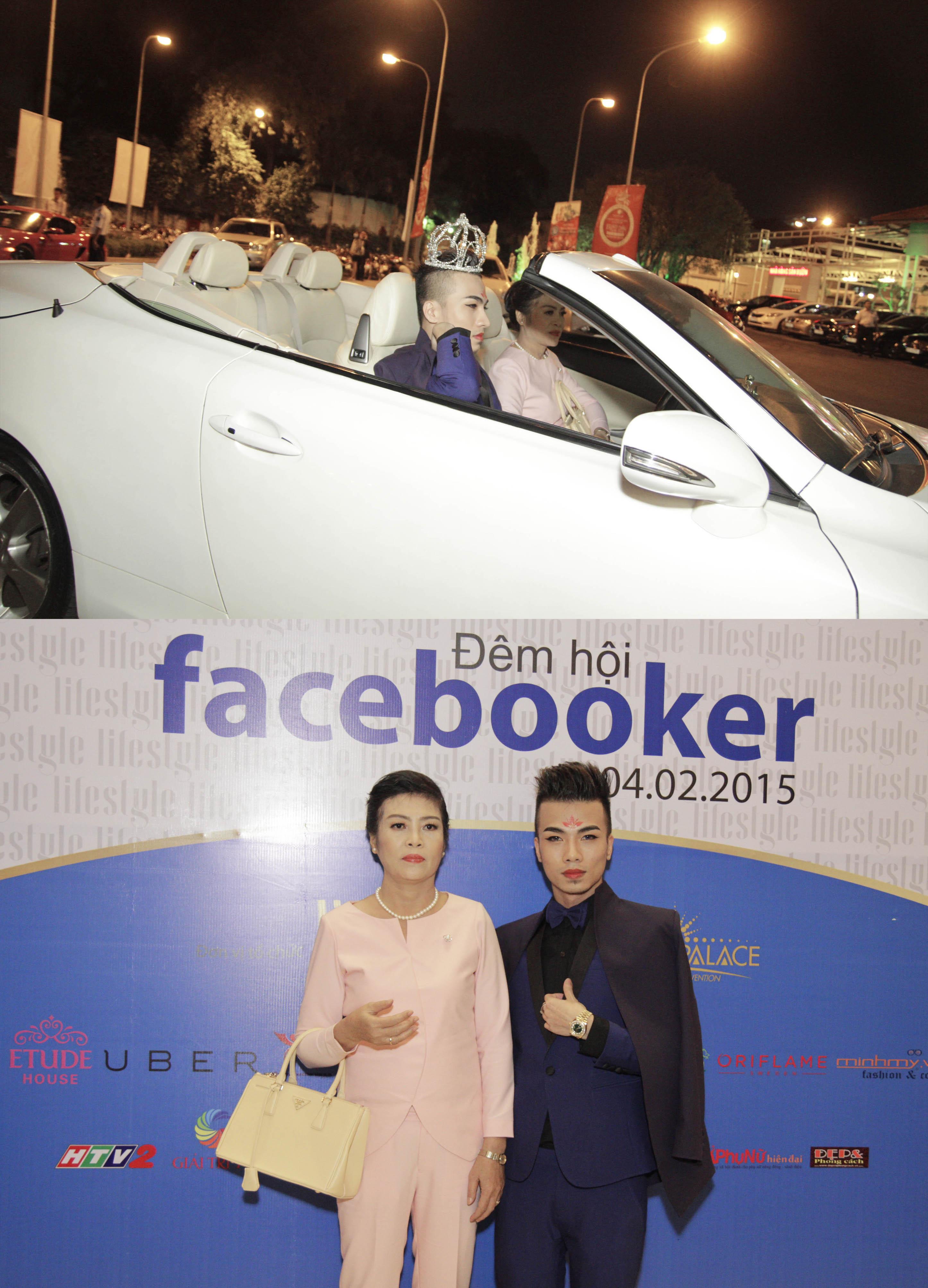 """Kenny Sang lái siêu xe cùng Minh Hằng Ngọc Lan """"đại thắng"""" giải thưởng lớn lễ hội Facebook"""
