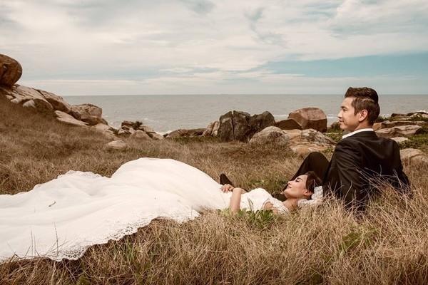 """Lê Thúy tung ảnh cưới siêu lãng mạn trước đám cưới """"thành thị"""""""