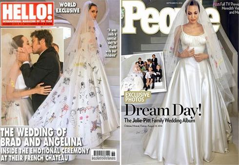 Angelina Jolie tiết lộ về việc kết hôn bí mật